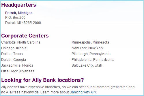 Routing Number For Ally Bank