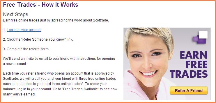 Scottrade - free trades